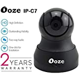 Ooze IP-C7 720P Wireless HD IP WiFi CCTV Indoor Security Camera (Support Upto 128 GB SD Card)