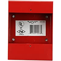 Fire Lite Alarms Sb-10 Red Fire Alarm Bg-12 Series Metal Surface Mount Back Box