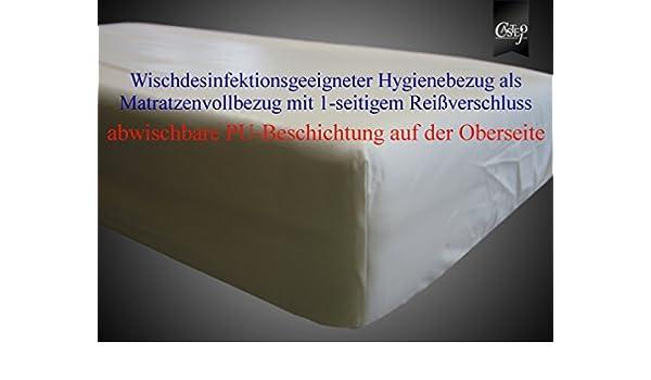 Limpieza y desinfección adecuada de colchón funda de diferentes tamaños de castejó funda protectora de colchón, protección contra la humedad, ...