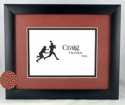 Amazon.com: 8x10 / Football picture frame 8x10 with real football ...