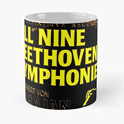 Beethoven Ludwig Van Composer - 11 Oz Coffee Mugs Unique Ceramic Novelty Cup, The Best Gift For ()