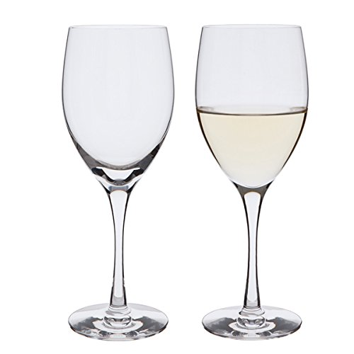 Dartington Wine Master White Wine Glass, Clear, Pack of 2 ST1402/P