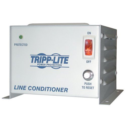 Tripp Lite 600W Line Conditioner w/AVR / Surge Protection 230V 2.6A 50/60Hz C13 3 Outlet Power Conditioner (Lite Tripp Line Conditioner)