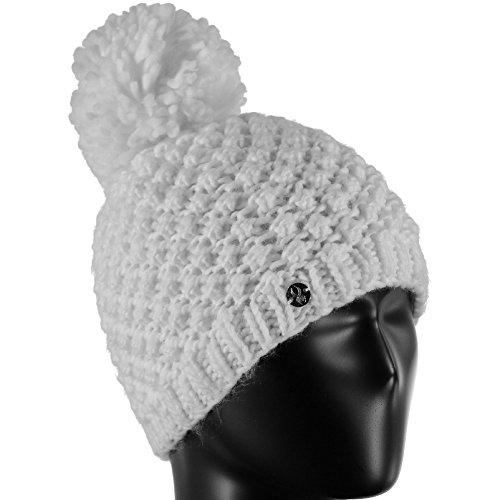 Spyder Girl's Brrr Berry Hat, White, One Size