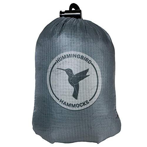 Hummingbird Hammocks Ultralight Single+ Hammock, Slate Gray