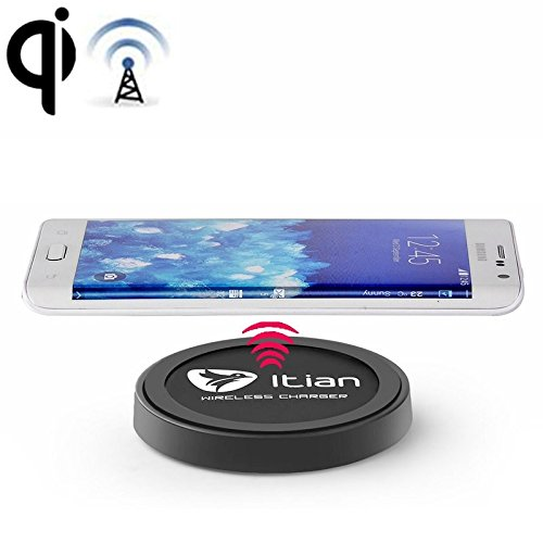 Click to buy Tuff Luv E4-34 Itian Qi Wireless Charger for Nokia Lumia LG Samsung HTC & Other Mobile Phones44; Black - From only $26.62