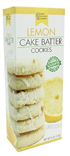 Soft Baked Lemon Cake Batter Cookies, Pack of 6 | 6 ounces