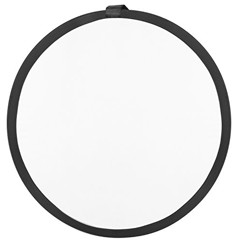 Neewer Photography Studio Lighting Reflector Pop-out Foldable Soft Diffuser Disc Panel with Carrying Case for Studio and Outdoor Portrait, Product Photography,Video Shooting(43inches/110centimeters) by Neewer