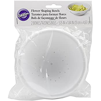 Amazon Com Wilton 1907 1364 2 Piece Large Flower Shaping