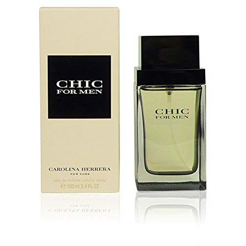 (Chic By Carolina Herrera For Men. Eau De Toilette Spray 3.4 Ounces)