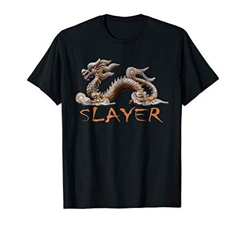 Dragon Slayer T-shirt - DRAGON SLAYER T-Shirt Shirt Chinese Dragon