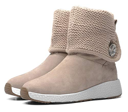 Aumu Sand Knit Boots Cotton Aries Series Snow Textile 4pv74w