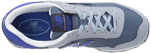 New Balance Mens Ml515modern Classics Sneaker Grigio / Blu
