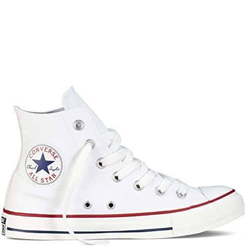 Converse Unisex Chuck Taylor All Star High Top Optical White Sneakers - 7.5 B(m) Us Women 5.5 D(m) Us Men