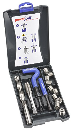 Helical Thread Repair Kit, 3/8-16, 15 Pcs - 16 Thread Repair Kit
