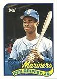 1989 Topps Traded Baseball #41T Ken Griffey Jr. Rookie Card