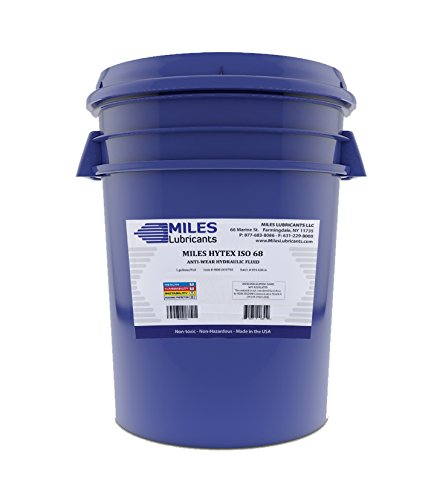 Miles Hytex ISO 68 Anti Wear Hydraulic Fluid 5 Gallon Pail by MILES LUBRICANTS