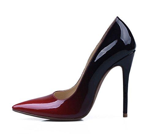 con color EU cuña 40 talla mujer TDA Sandalias multicolor B45wqc1x