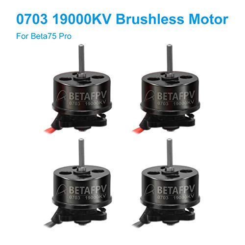 BETAFPV 4pcs 0703 Motor 19000KV Brushless Motors FPV RC for 1S Brushless Tiny Whoop Drone Multirotor Beta75pro etc Review
