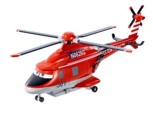Disney Planes: Fire and Rescue Blade Ranger Helicopter With Spinning Propeller ()