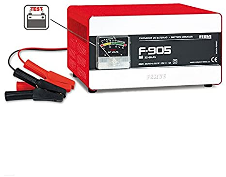 FERVE - Battery Charger Prima 30 60Ah 5A F905, Color 0
