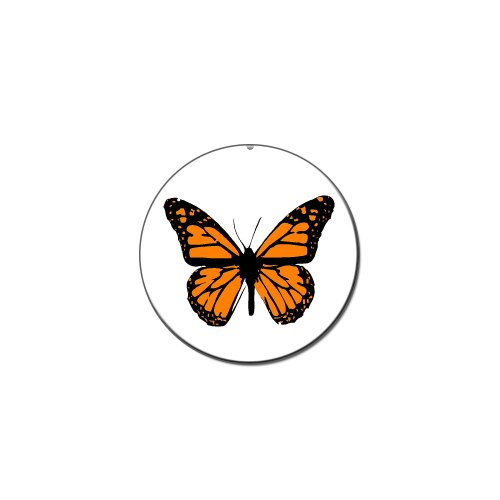- Monarch Butterfly - Metal Lapel Hat Pin Tie Tack Pinback