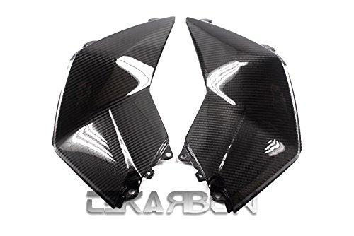 Tekarbon, Replacement for Large Side Fairings, KTM Duke 200 125 390 (2012-2015), Carbon Fiber, 2x2 Twill Weave