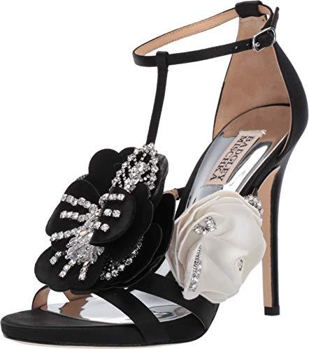 Badgley Mischka Women's Open Toe Heeled Sandal, Black, 7.5 M US from Badgley Mischka