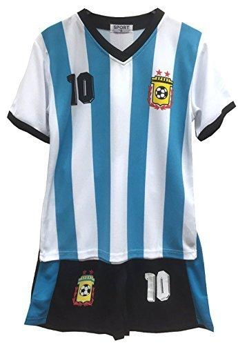 Niños - Conjunto - Camiseta & Pantalones Cortos de fútbol de ...
