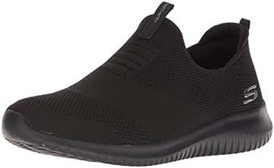 Skechers Australia Ultra Flex - First TAKE Women's Training Shoe, Black/Black, 5 US