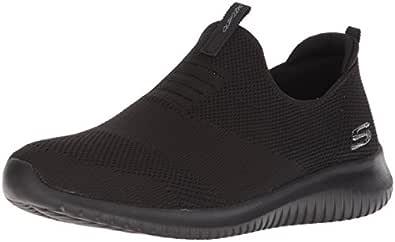 SKECHERS Ultra Flex-First Take, Women's Fitness & Cross Training Shoes, Black, 36.5 EU