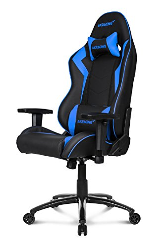 AKRacing Octane - AK-OCTANE-BL - Silla Gaming, Color Negro/Azul
