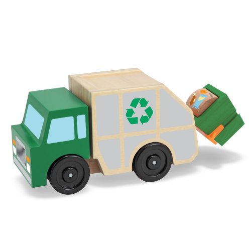 Melissa Doug Garbage Wooden Vehicle product image
