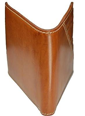 Castello Premium Italian Vacchetta Leather Passcase Wallet with RFID Chip Security