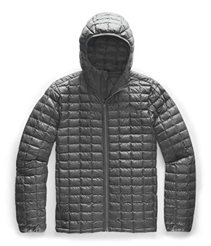 The North Face Men's Thermoball Eco Hoodie Jacket, Asphalt Grey Matte, Large