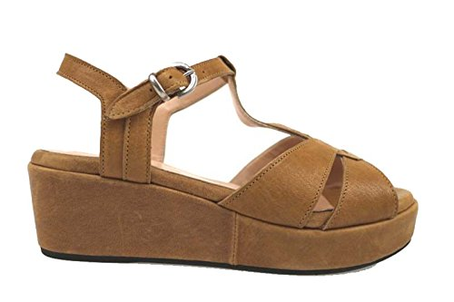 Zapatos Mujer ALLISON 35 Sandalias Marrón Cuero AP812