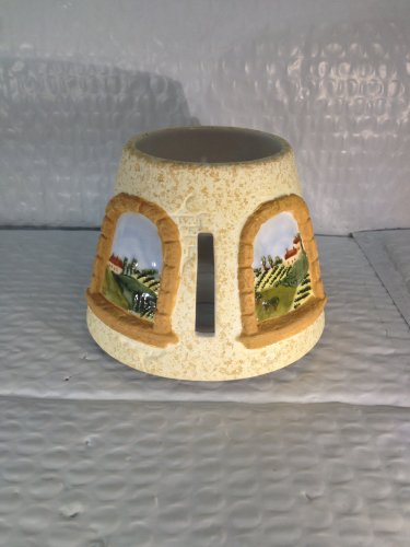 Tuscany Window Collection, Small Candle Jar Shade, 2003 Waxcessories(TM) 10895