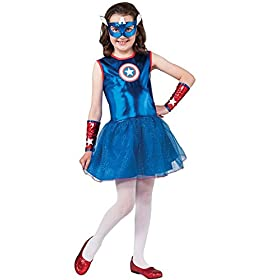- 41WNjSmSVJL - Rubie's Marvel Classic Child's American Dream Costume