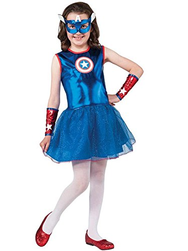 - 41WNjSmSVJL - Rubie's Marvel Classic Child's American Dream Costume