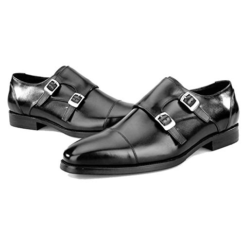 Scarpe Scarpe Moda Black Casual Scarpe da Uomo Sposa da qYZwqB