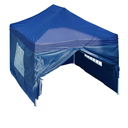 DELTA Canopies 10'x15' Pop up Canopy Wedding Party Tent Gazebo EZ Navy Blue - F Model Commercial ()