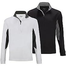Forgan 2 Pack of St Andrews Men's Golf Pullover 1/4 Zip Top