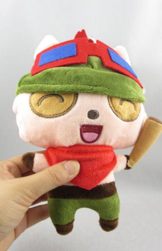 New Lol Teemo Stuffed Plush Toy Action Figure League Of