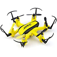 Remote Control Drone,JJRC H20H 2.4G 4CH 6-Axis Gyro Hexacopter Drone with CF Mode/One Key Return/3D Flip/Altitude Hold RTF RC Quadcopter With Led Upgrade Version,by MKLOT - Yellow