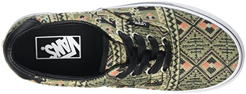 Vans Unisex Era 59 (marokkaanse Geo) Skateschoen (marokkaanse Geo) Zwart / Klimop