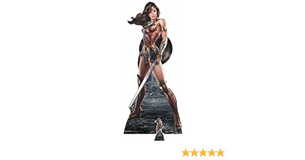 DC Comics Wonder Woman (diseño gráfico) Vida tamaño de cartón ...