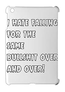 i hate falling for the same bullshit over and over! iPad mini - iPad mini 2 plastic case