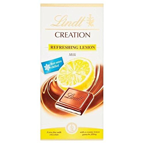Lindt Creation Lemon 150g - Pack of - Dark Chocolate Truffles Lemon