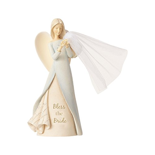 Enesco Foundations Bless The Bride Angel, 9.06