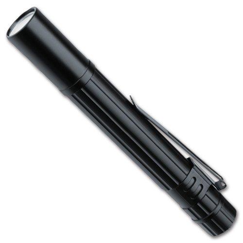 LiteXpress Pen Power 100 Aluminium-Taschenlampe, 1 Nichia Hochleistungs-LED, Lichtleistung bis 11 Lumen, schwarz, LX401101
